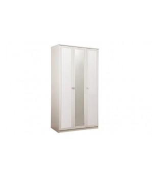 Шкаф для одежды 06.56 МОНА (2 двери глухие +1 дверь с зеркалом)